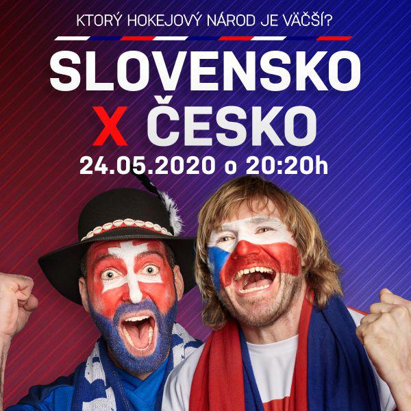 Reprezentačný duel hokejových fanúšikov SVK - CZ