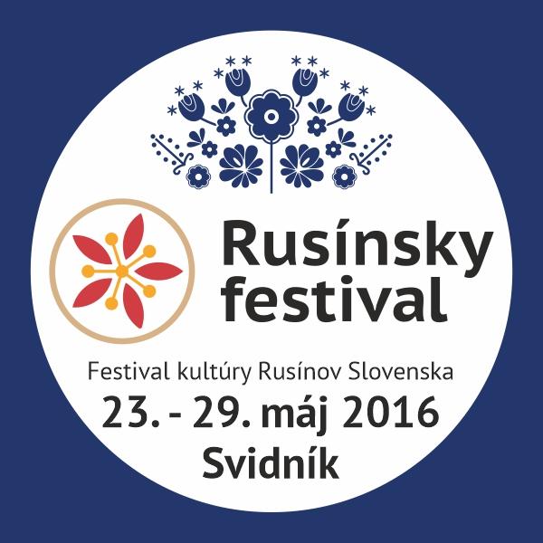 Rusínsky festival /Archív 27.05. – 29.05.2016/