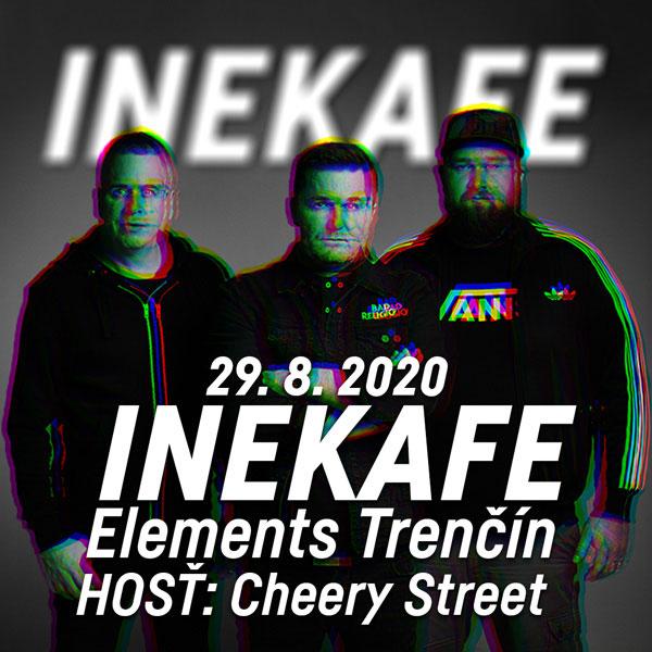 INEKAFE - LETO 2020 TOUR TRENČÍN