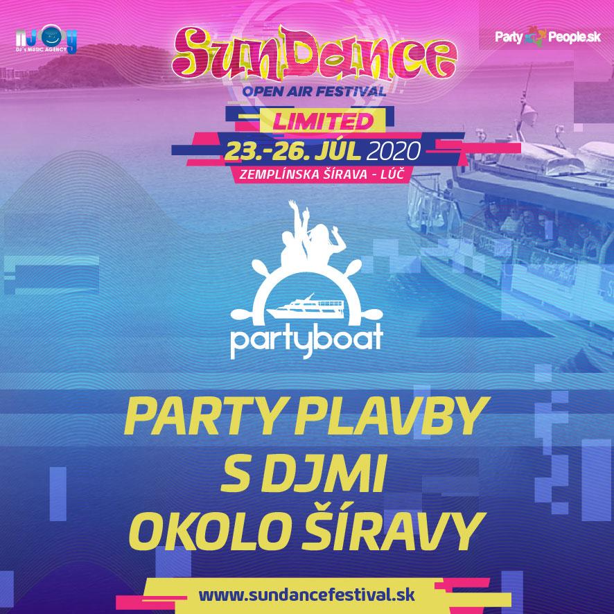 SunDance Festival 2020 – PartyBoat