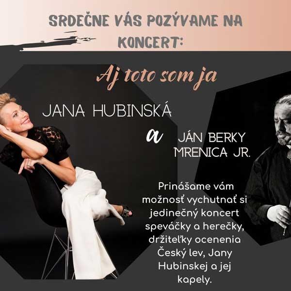 Jana Hubinská a Ján Berky Mrenica Jr.