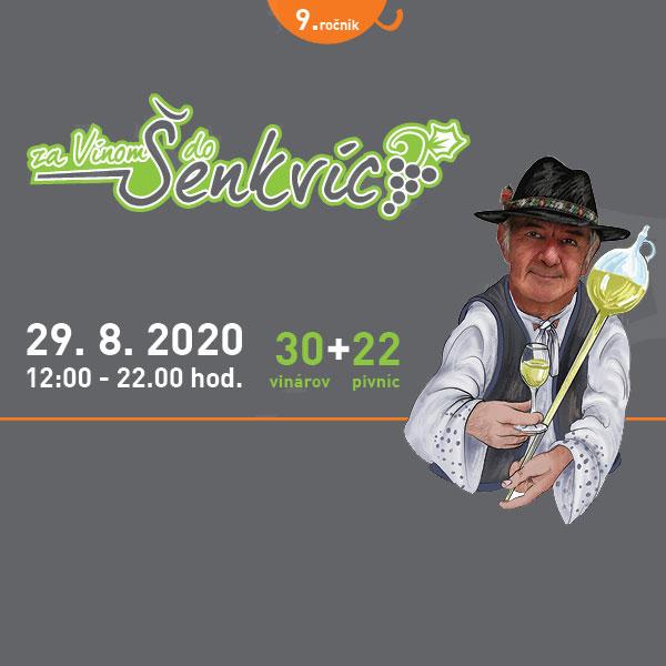 ZA VÍNOM DO ŠENKVÍC 2020 - 9. ročník