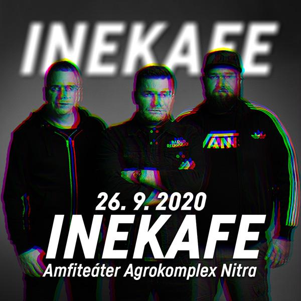 INEKAFE - LETO 2020 TOUR NITRA