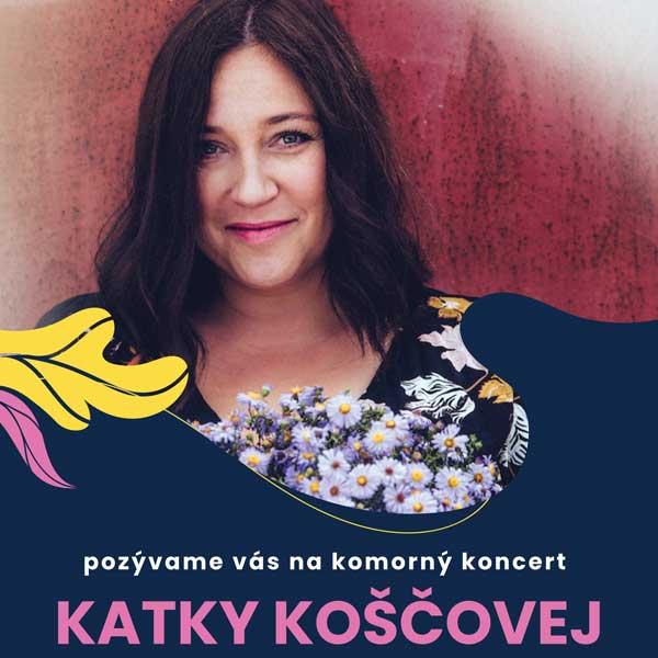 Koncert Katky Koščovej v Botanickej záhrade