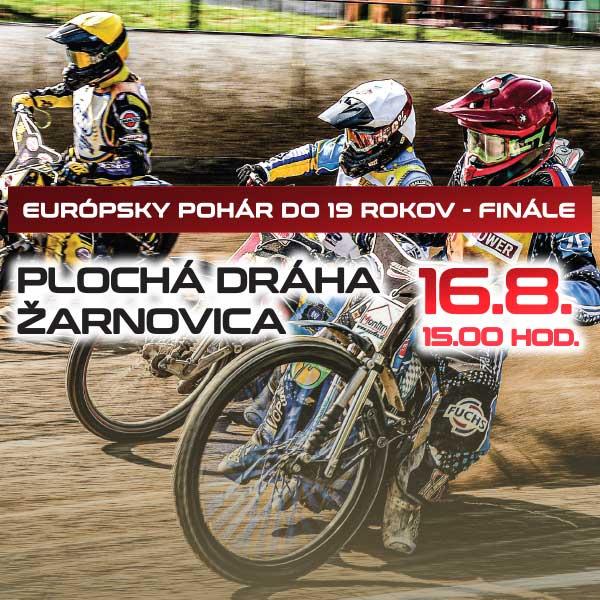 Plochá dráha - FINÁLE Európskeho pohára juniorov