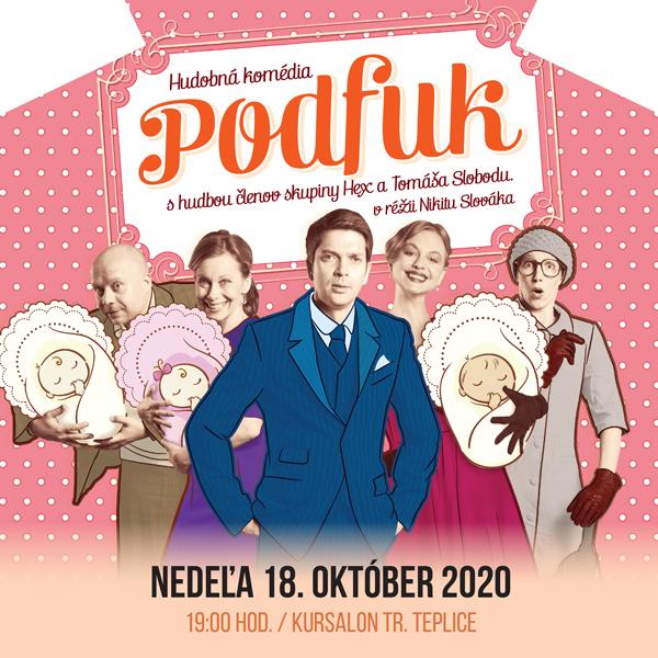 Divadelná komédia Podfuk Kursalon Tr. Teplice