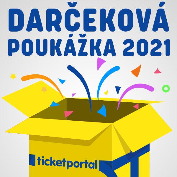 Darčeková poukážka Ticketportal 2021