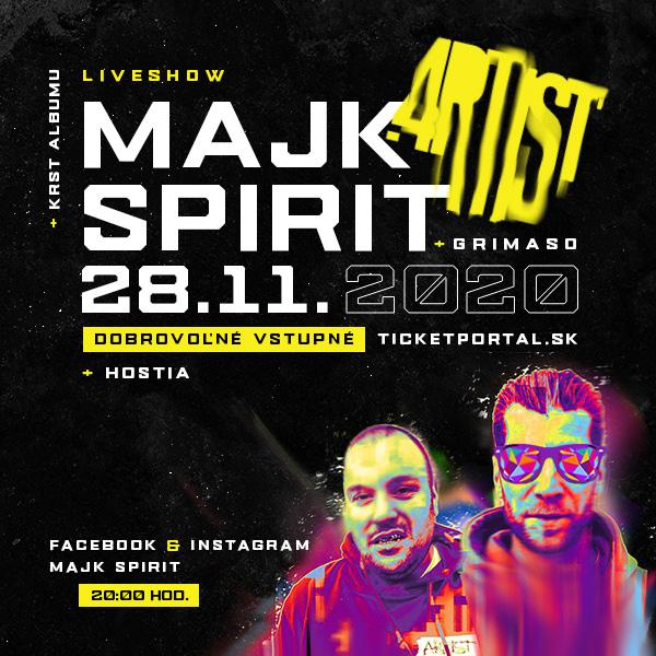 MAJK SPIRIT - ARTIST LIVE SHOW