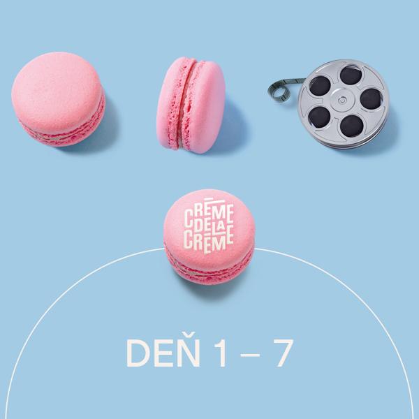 Edisonline: Crème de la Crème - Deň 1-7
