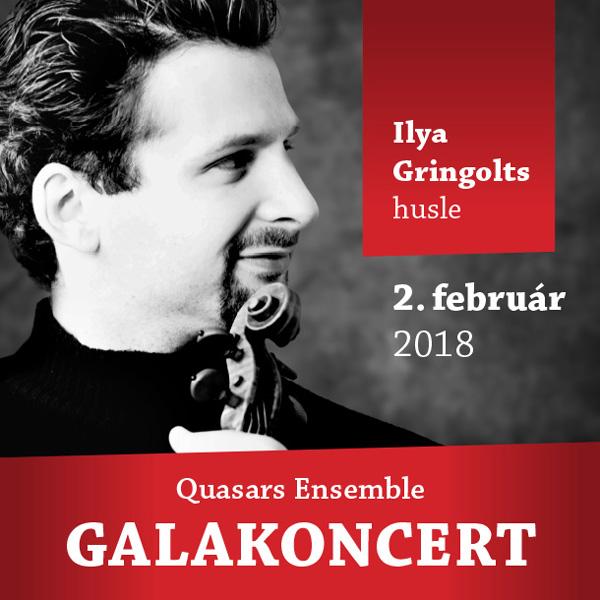 Quasars Ensemble & Ilya Gringolts Galakoncert
