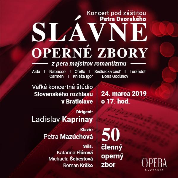 Slávne operné zbory majstrov romantizmu
