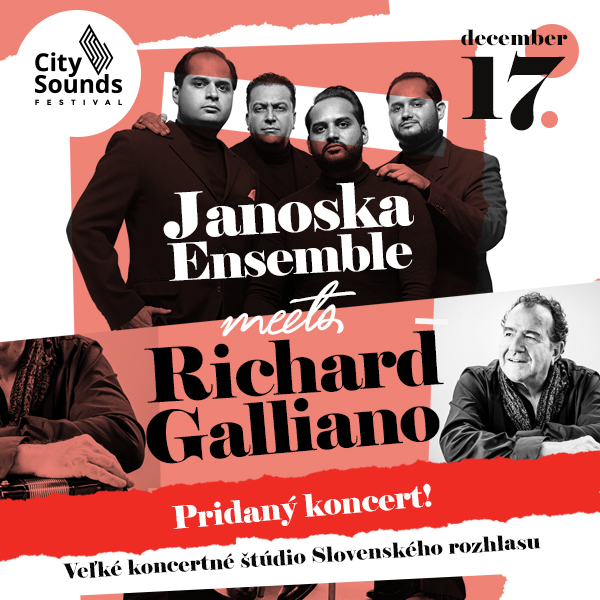 JANOSKA ENSEMBLE & RICHARD GALLIANO