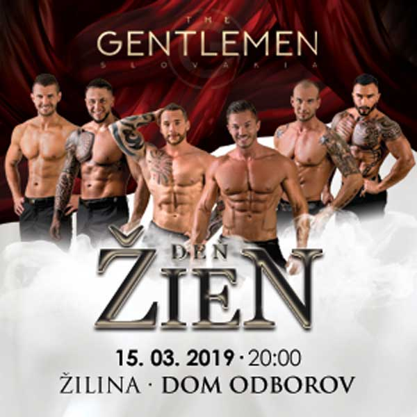 THE GENTLEMEN SLOVAKIA - DEŇ ŽIEN