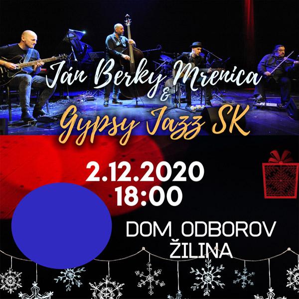 Ján Berky Mrenica & Gypsy Jazz SK