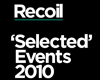 Recoil `Selected` Events 2010