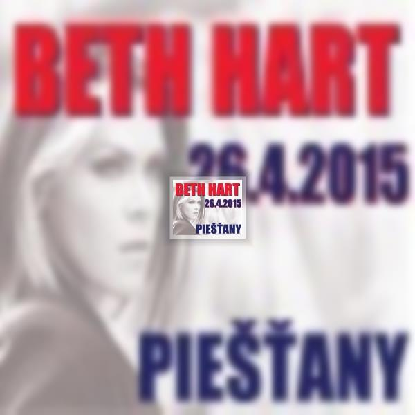 BETH HART, support René Lacko & Down Town band