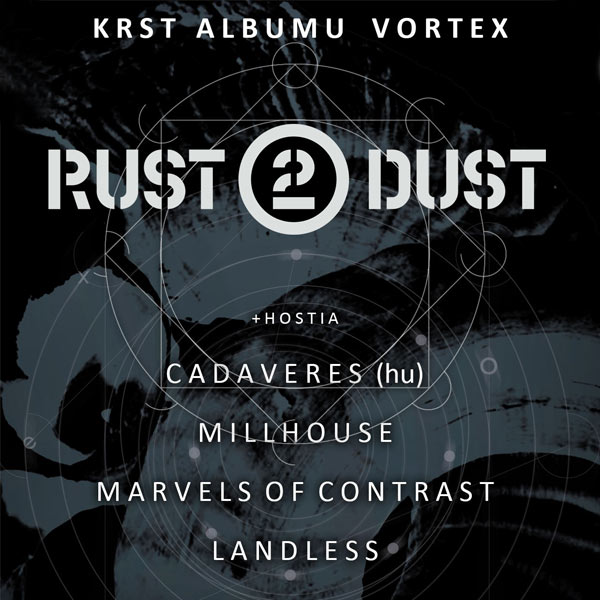 Rust2Dust - krst albumu Vortex