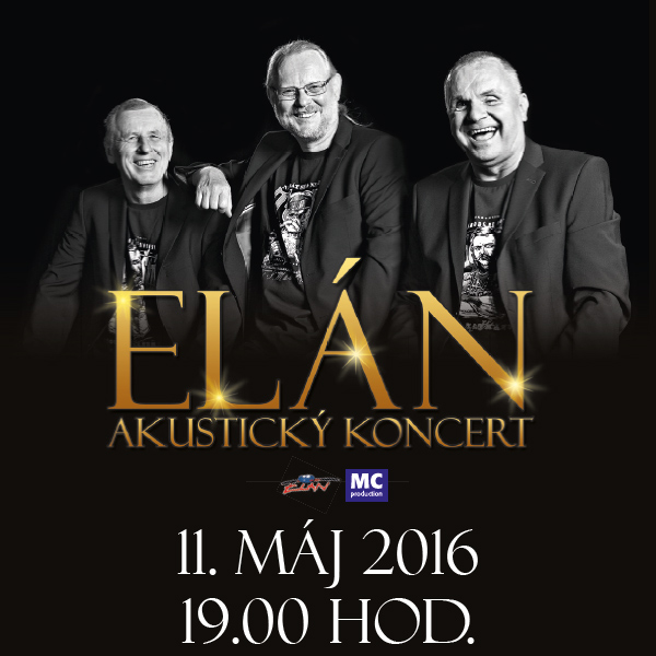 ELÁN - akustický koncert