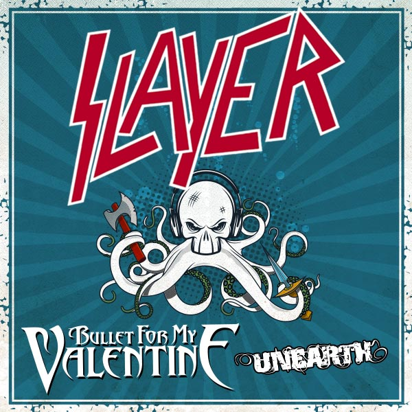 SLAYER+BULLET FOR MY VALENTINE+hostia