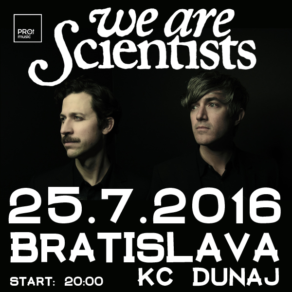 We Are Scientists + Juraj Hnilica