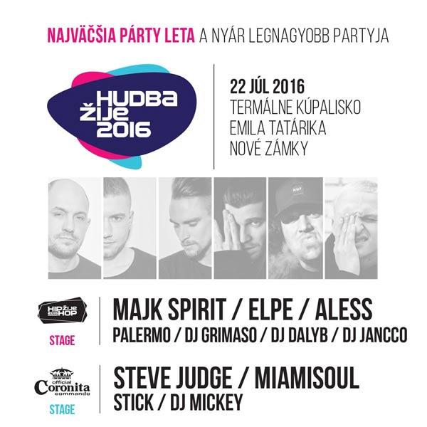 HUDBA ŽIJE Festival
