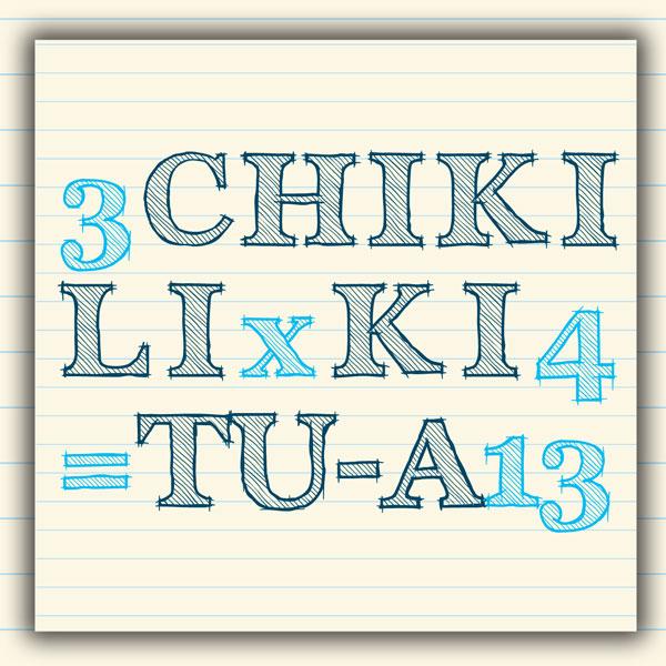 CHIKI LIKI TU-A  3x4=13  TOUR