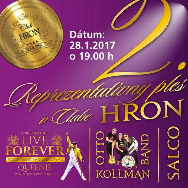2. reprezentatívny ples v clube HRON