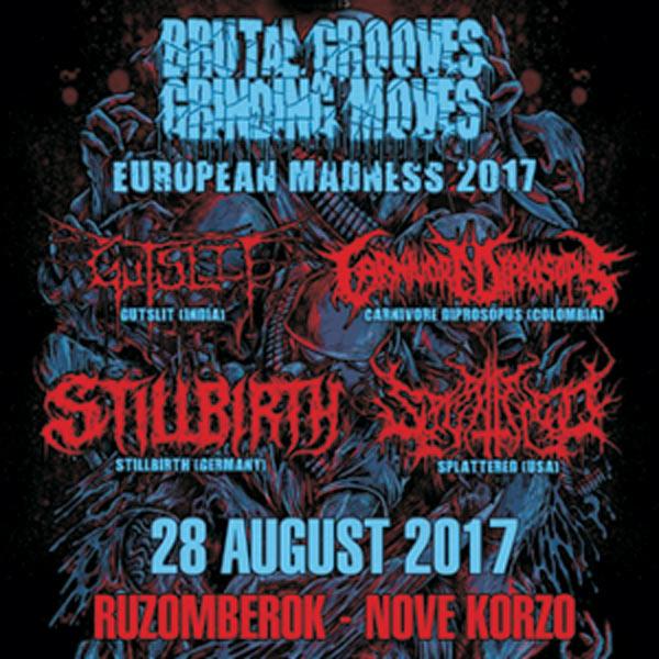 Brutal Grooves Grinding Moves Tour 2017