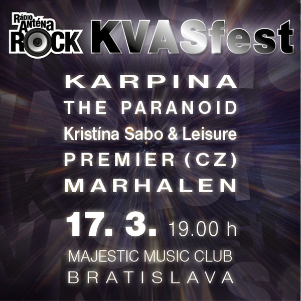 RÁDIO ANTÉNA ROCK KVASfest