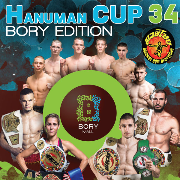 HANUMAN CUP 34 - Bory Mall Edition