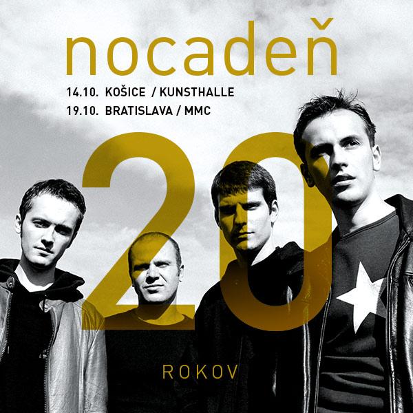 20 rokov Nocadeň