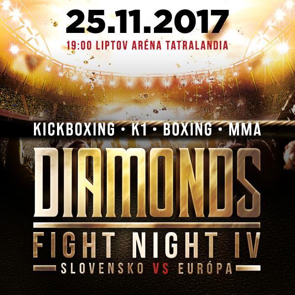 DIAMONDS FIGHT NIGHT 4 (Slovensko vs Európa)