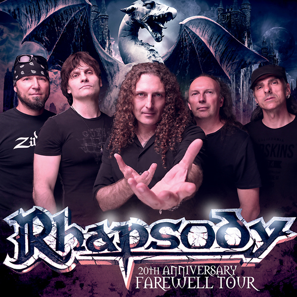 RHAPSODY - 20TH ANNIVERSARY FAREWELL TOUR
