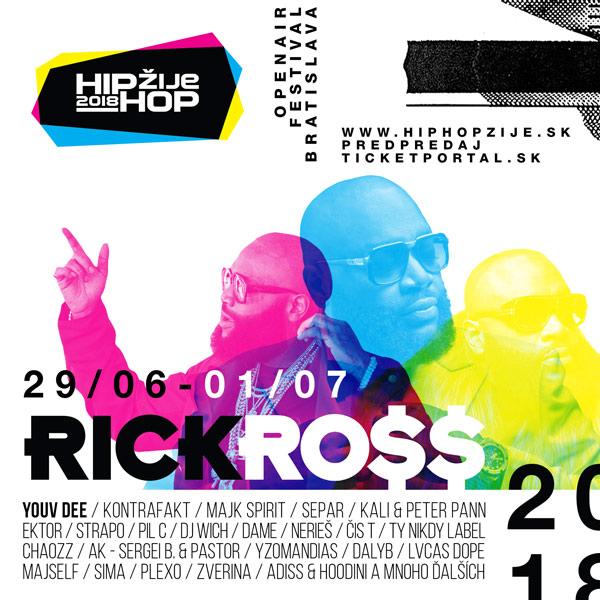 Hip Hop Žije Festival 2018 - Bratislava