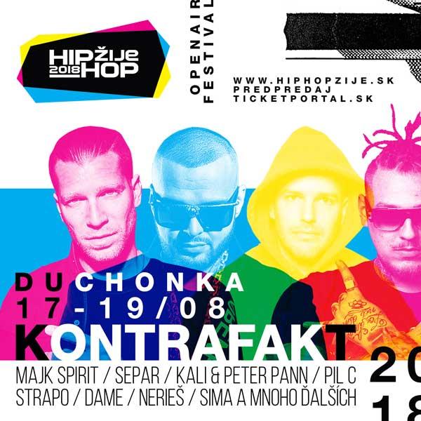 Hip Hop Žije Festival 2018 - Duchonka - Prašice