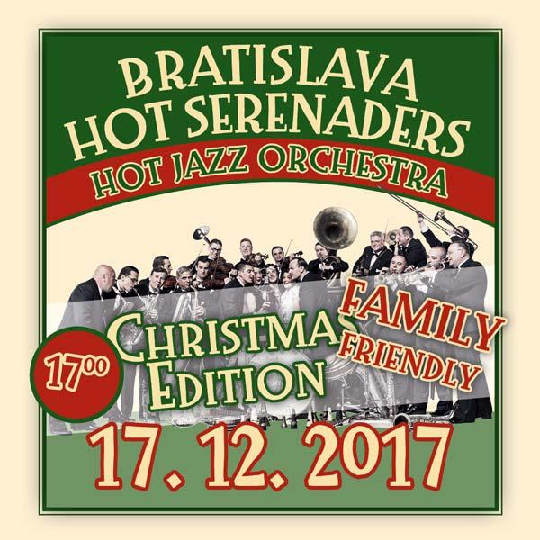 Vianočný koncert-rodinný Bratislava Hot Serenades