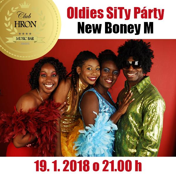 SITY OLDIES PÁRTY s NEW BONEYM