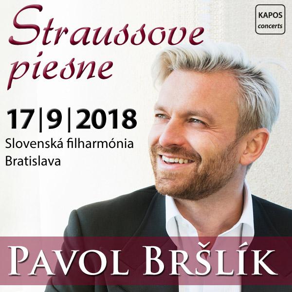 PAVOL BRŠLÍK - Straussove piesne