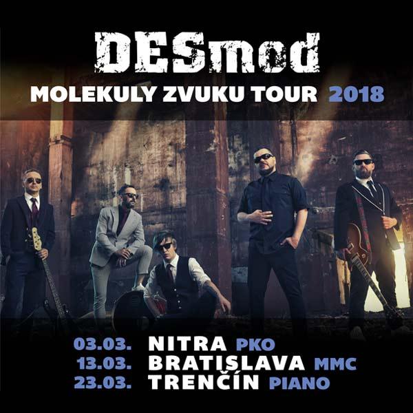 DESMOD - MOLEKULY ZVUKU TOUR 2018
