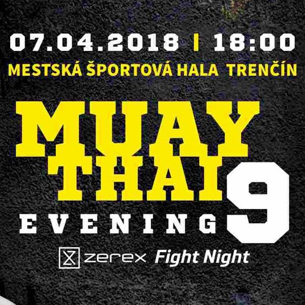 Muay Thai Evening 9 ZEREX Fight Night