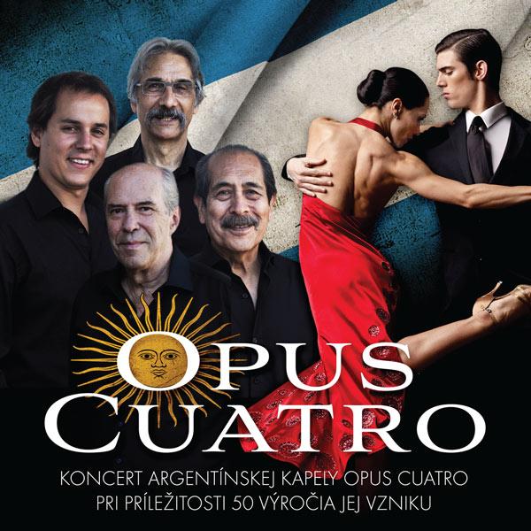 Argentínsky večer s Opus Cuatro