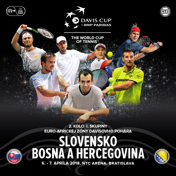 Davis Cup Slovensko – Bosna a Hercegovina