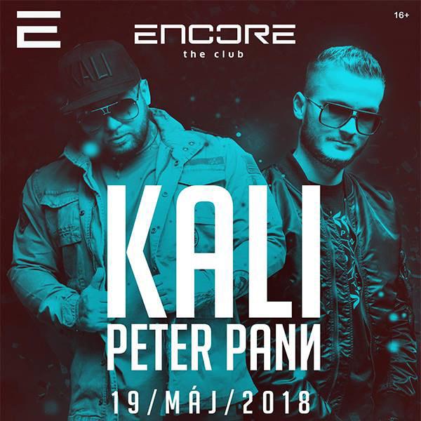 KALI & PETER PANN v Encore the Club
