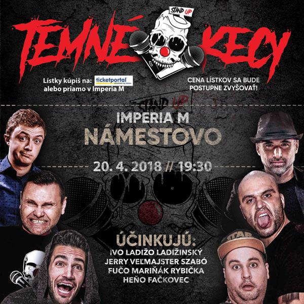 dbc385819 TEMNÉ KECY, Námestovo | TICKETPORTAL vstupenky na dosah - divadlo ...