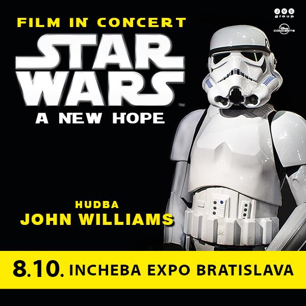 STAR WARS: NOVÁ NÁDEJ – film so živou hudbou