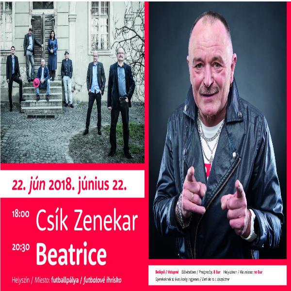 Koncert skupiny CSÍK ZENEKAR a BEATRICE