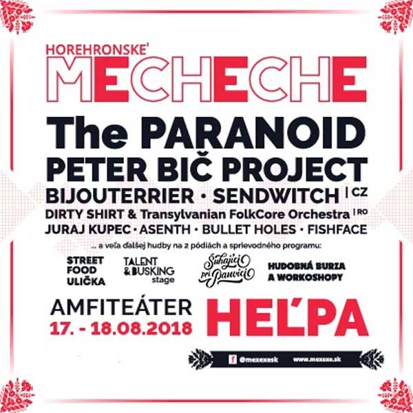 HOREHRONSKÉ MECHECHE 2018