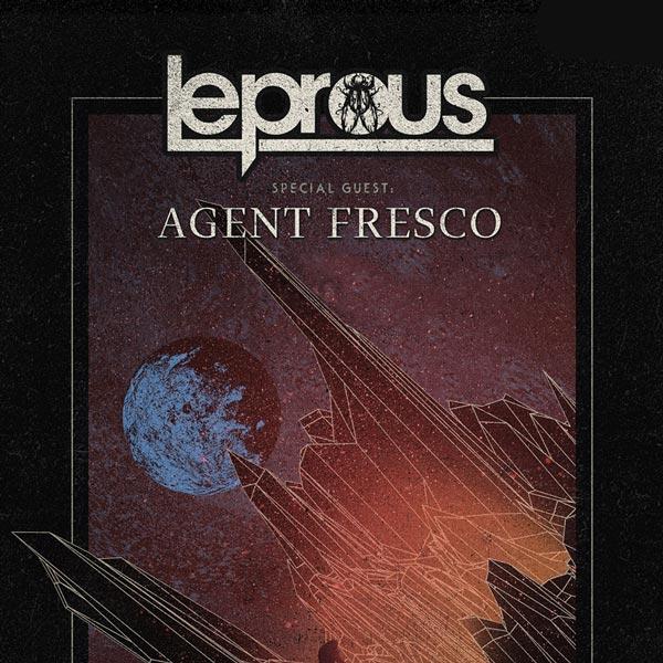 LEPROUS (NOR) + AGENT FRESCO (IS)