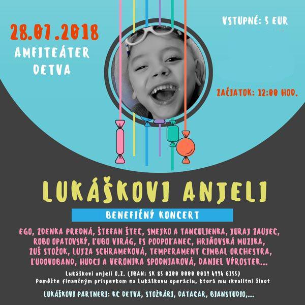 LUKÁŠKOVI ANJELI – benefičný koncert
