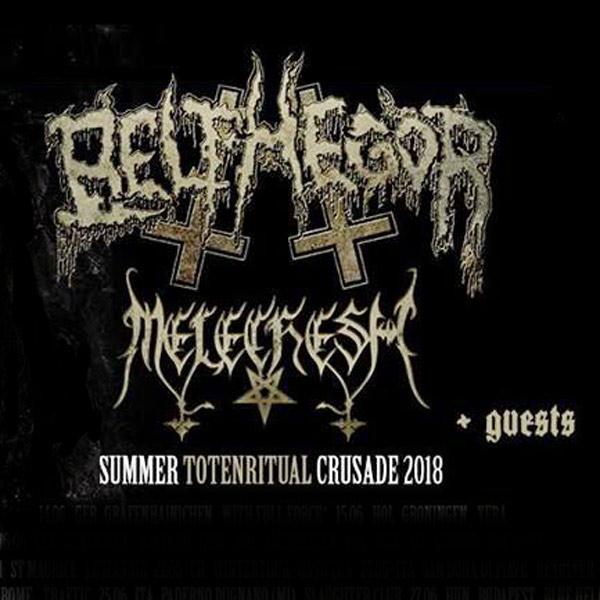 Belphegor / Melechesh Summer Totenritual Crusade